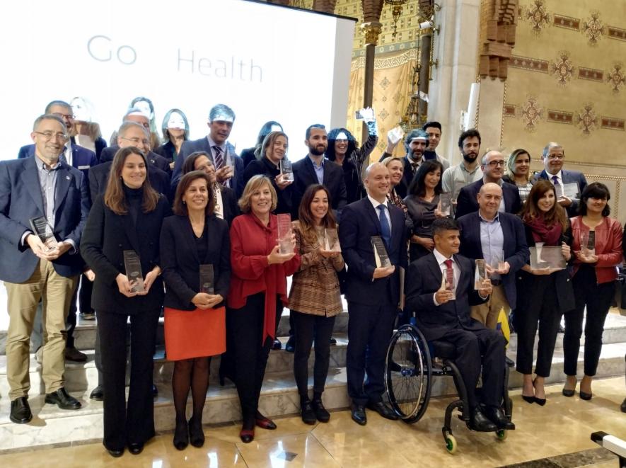 """Coloplast. Primer premio en los """"Go Health Awards 2019"""" por el Libro Blanco de la ostomía."""